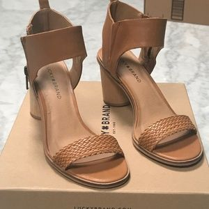 Lucky Brand Shoes - Lucky Brand Pomee Sandal - WORN ONCE!